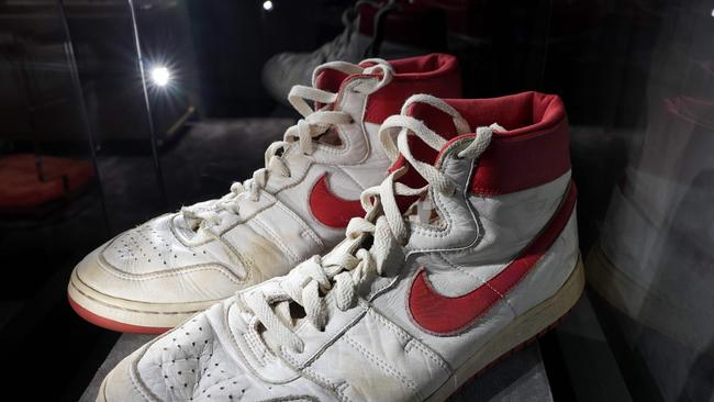 Michael Jordan Nike sneakers reach record price at auction