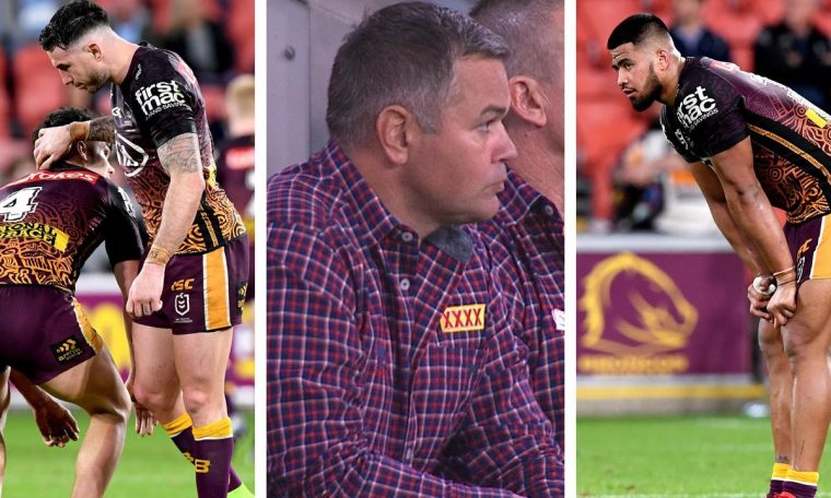 The pressure climbs for Anthony Seibold after the Broncos loss to the Sharks.