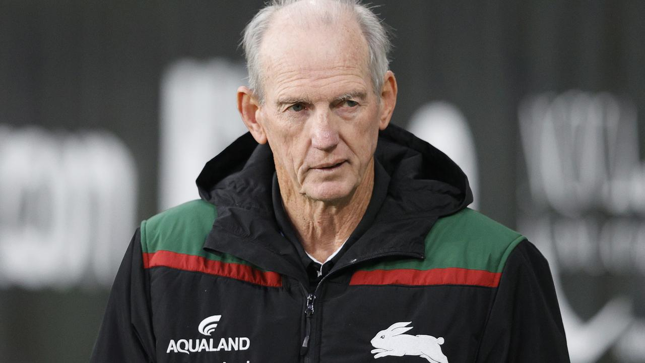Wayne Bennett has one year to run on his Rabbitohs deal.
