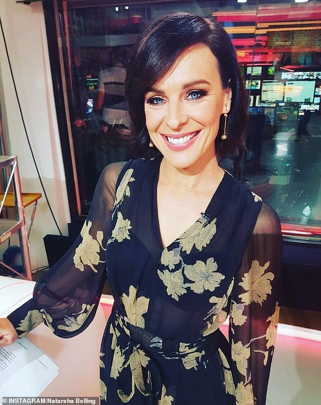 Greener pastures: Natarsha Belling (pictured) could be headed for the Today show on Nine after being sacked by Channel 10 in a round of budget cuts