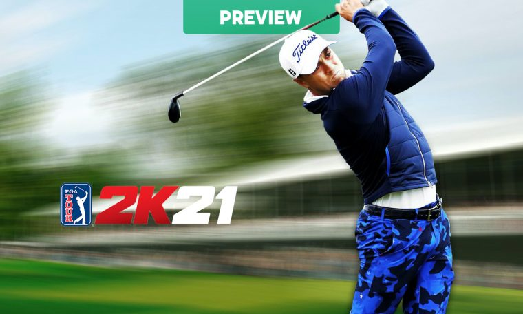 PGA Tour 2K21 Preview - Vooks