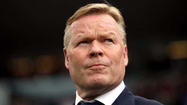 Ronald Koeman: Barcelona name former player as new head coach