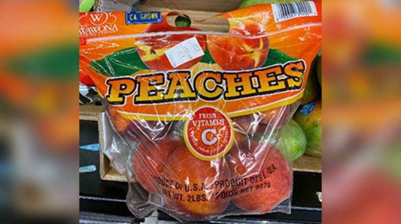 Salmonella outbreak: Peaches packed by Tulare County company recalled in 20 states