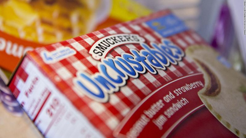 Smucker's sales climb as Americans turn to frozen PB&Js and coffee