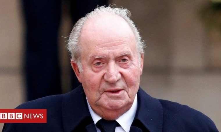Spain puzzles over ex-King Juan Carlos's whereabouts