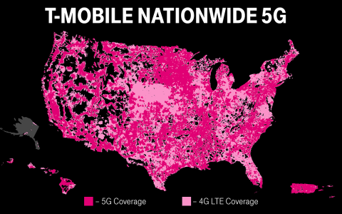 Standalone 5G network sees T-Mobile reach 2,000 more towns
