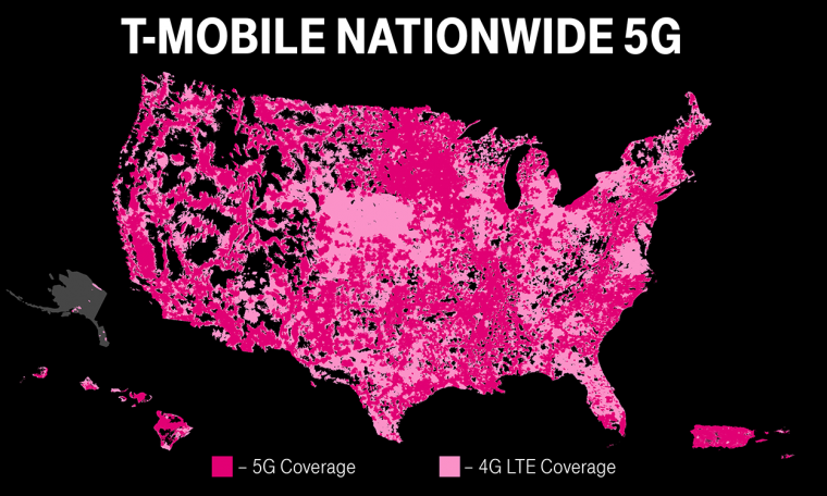Mobile one-ups other carriers by launching first nationwide standalone 5G network