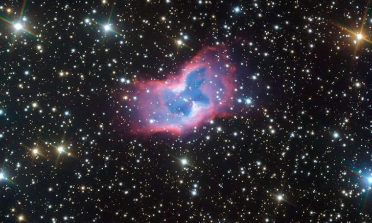 Stunning Shimmering Space Butterfly Captured by Very Large Telescope