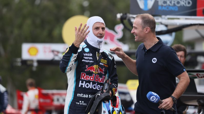 Whincup fined for post-race park-up