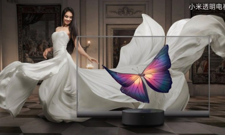 Xiaomi unveils ludicrous transparent OLED TV – and it's actually going on sale