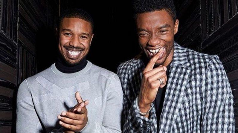 Black Panther's Michael B Jordan pays emotional tribute to Chadwick Boseman