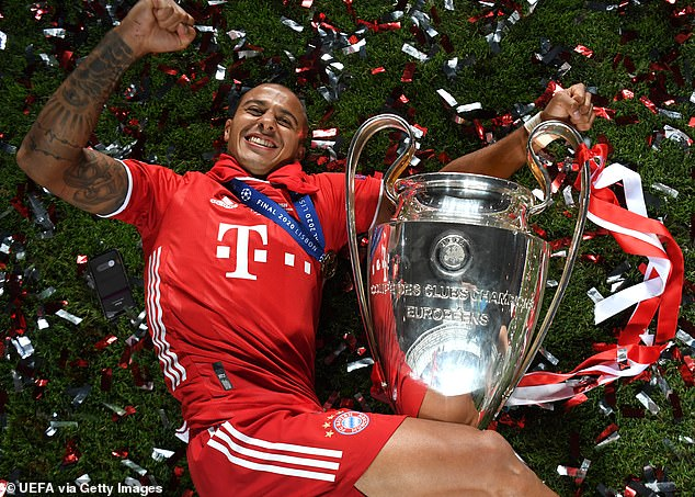 Diego, who was associated with the move to Liverpool, won the Champions League with Bayer