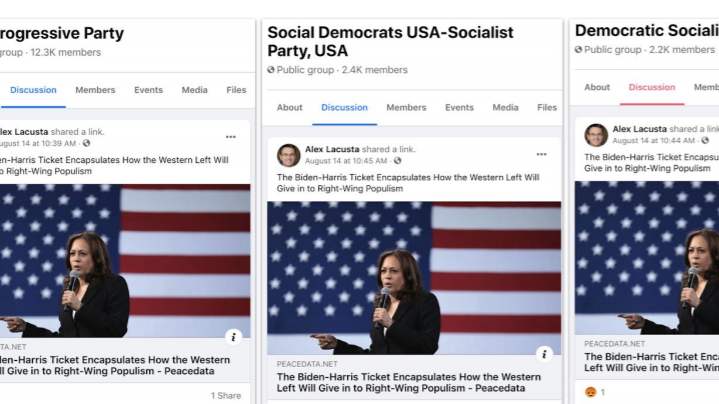 Facebook and Twitter target left-leaning voters and remove pro-Russia accounts: NPR
