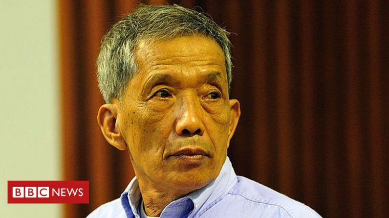 Comrade Touch, commander of the Khmer Rouge prison, died