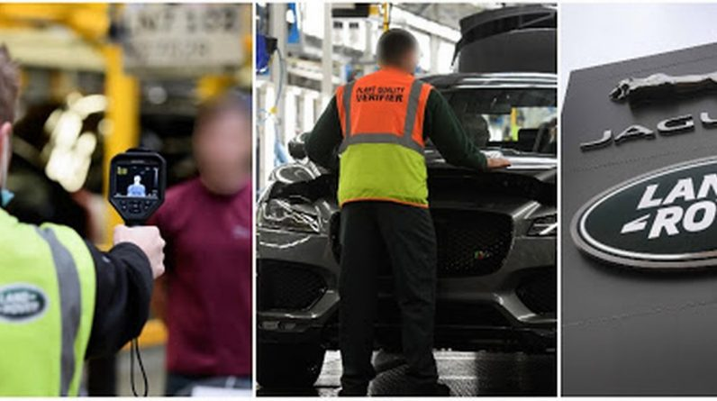 Corona virus outbreak at Jaguar Land Rover's Solihull plant tests four workers' positives