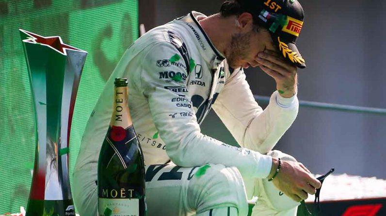 Results of the 2020 Italian Grand Prix