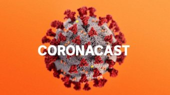 Description of the cell overwritten with the word 'Coronakast' on an orange background.