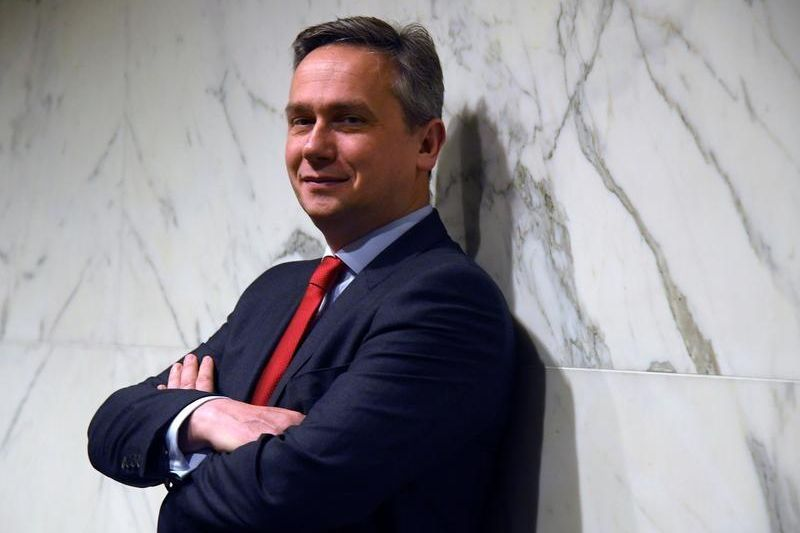 Rio Tinto CEO Jean-Sebastian Jack poses for a portrait