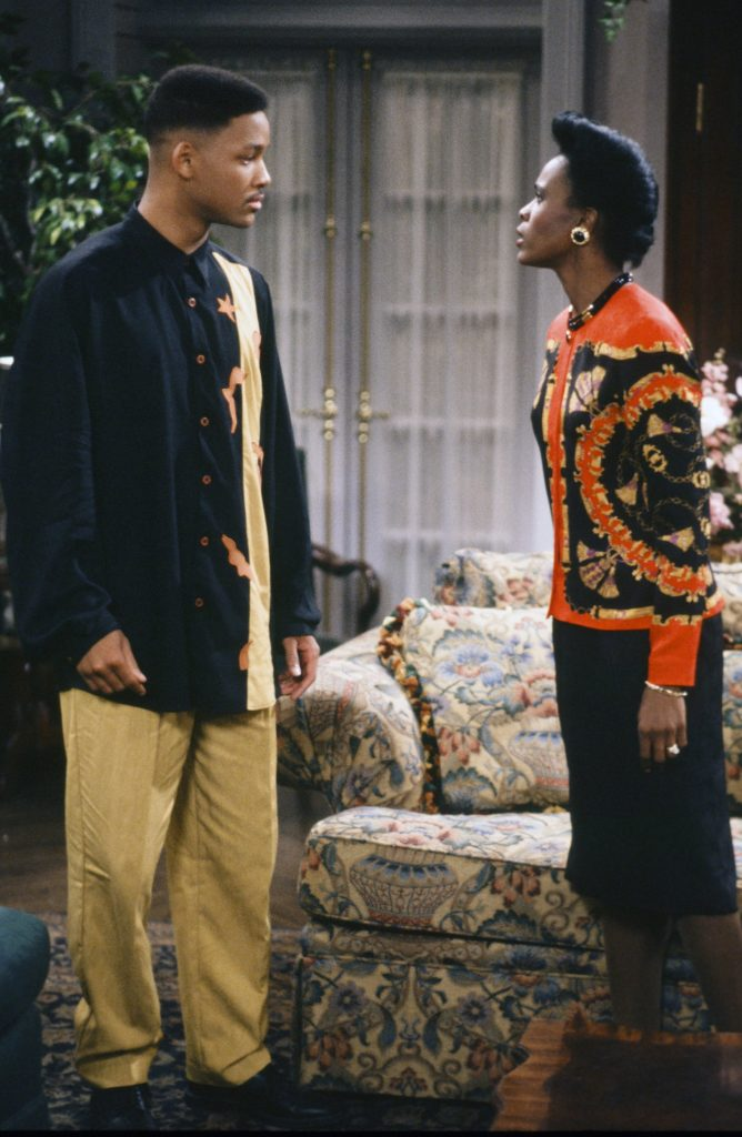 William Smith William 'Will' Smith and Janet Hubert as Vivian Banks