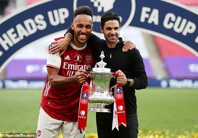 After winning the FA Cup this year, Abamayang has been friendly about his long-term Arsenal future.