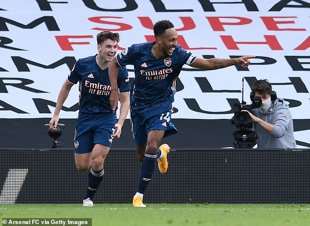 The 31-year-old Abameyang has made a great start to Arsenal's 2020-21 season