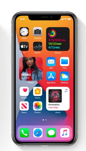 "Apple adds ""Widgets"" For iOS Home screen on iOS14"