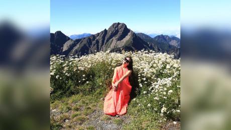 Jiki Wu, Taiwan & # 39; Bikini Hiker, & # 39; The mountain dies after the fall