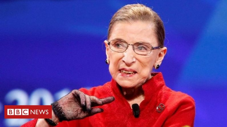 Ruth Bader Ginsburg: A US Supreme Court judge has died of cancer at the age of 87