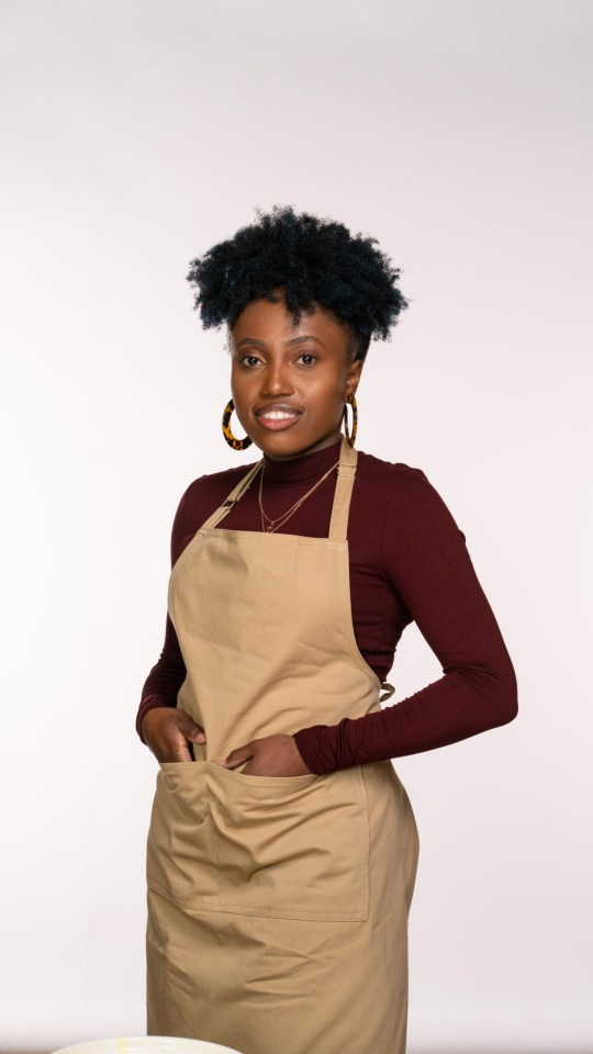 Loria from gbbo