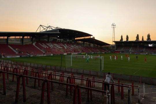 Rexham AFC's Racecourse Ground Home Stadium