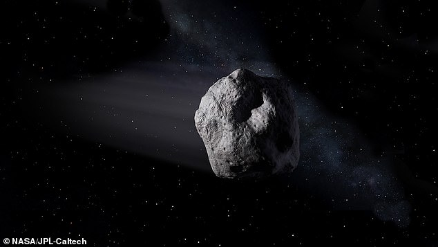 Scientists estimate that more than 100 million small asteroids, such as the 2020 SW, will fly in space, but they will be difficult to find unless they are close to Earth (stock).
