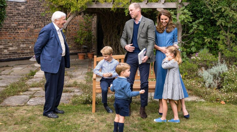 The 3 children of Prince William and Kate Middleton meet one of their favorite celebrities