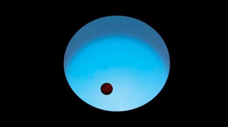 A distant blue star is one of the most intense exoplanets known to science