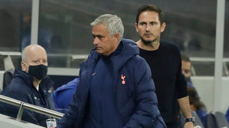 Jose Mourinho explains the reasons behind the Frank Lampard touchline line