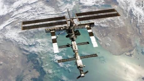 The Russian space agency says the International Space Station leak is stable