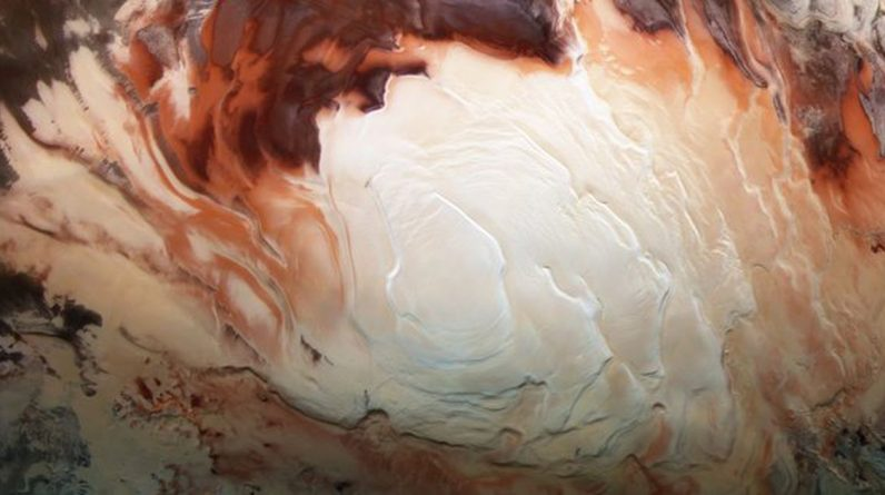 Ancient underground lakes found on Mars