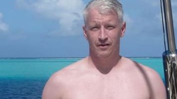 Andy Cohen annoys Anderson Cooper by posting shirtless photos of CNN host
