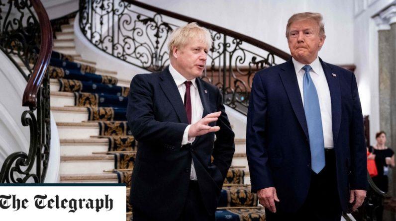 Boris Johnson Trump 'Makes Americans Better Again'