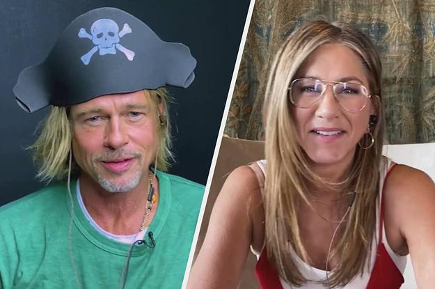 Brad Pitt & Jennifer Aniston reunited for a good cause
