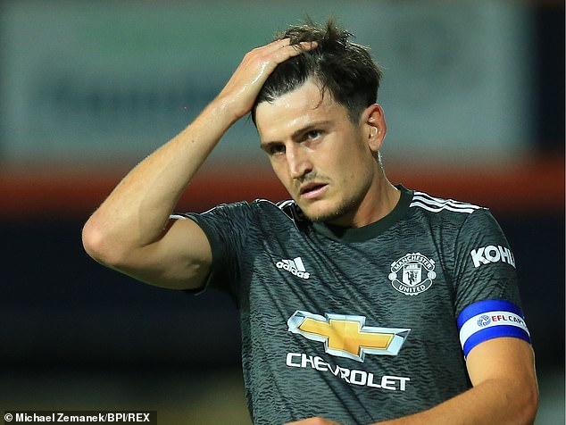 Manchester United defender Harry Maguire prepares to face Brighton on Saturday