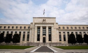 U.S. Federal Reserve Headquarters in Washington D.C.