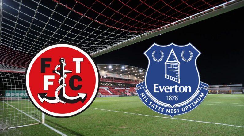 Fleetwood Town Vs Everton - Goals and Highlights After Richardson, Alex Iwobi, Bernard and Moise Keane