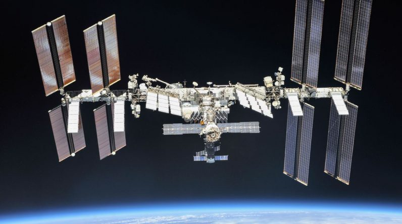 ISS excluded an 'unknown space debris'