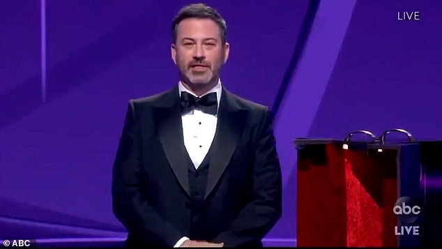 Jimmy Kimmel under fire for 'horrendous' immigration joke at Emmys