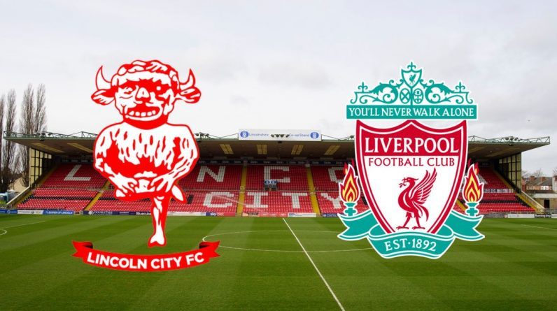 Lincoln City vs Liverpool Live - Score and Commentary Stream, Shakiri, Minmino and Curtis Jones Goals