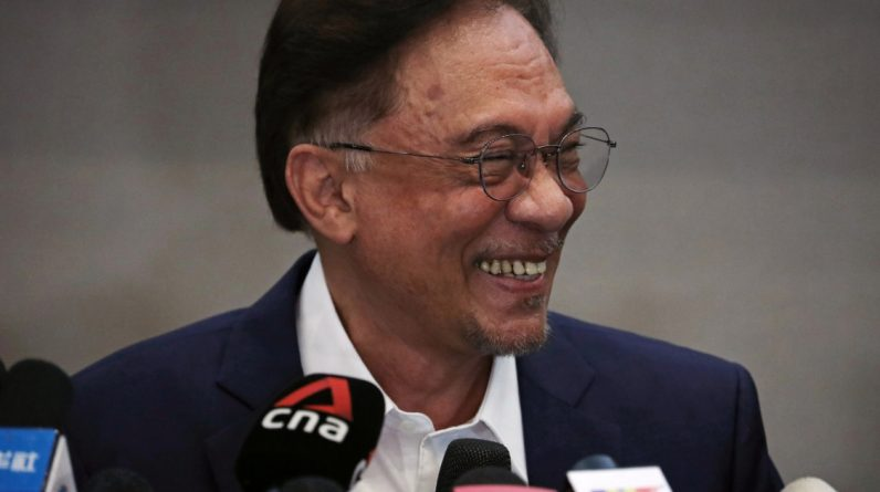 Malaysia's Anwar Ibrahim says there is a majority to form a new government Malaysia
