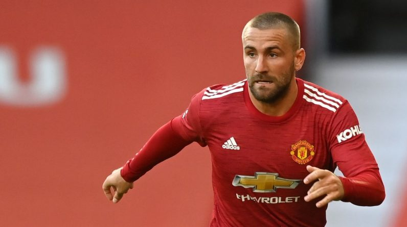 Manchester United player Luke Shaw sends transfer message to Ed Woodward