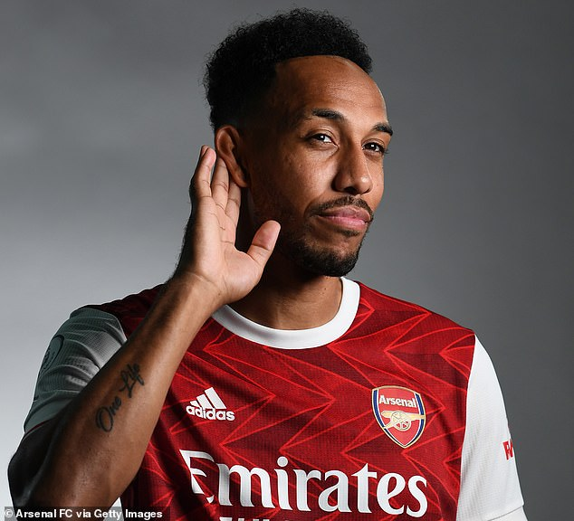 Pierre-Emerick Abameyang has agreed a new three-year deal to stay at Arsenal