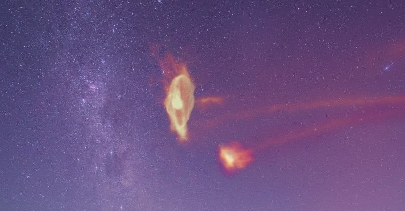 We can finally discover the appearance of a mysterious stream circling the Milky Way