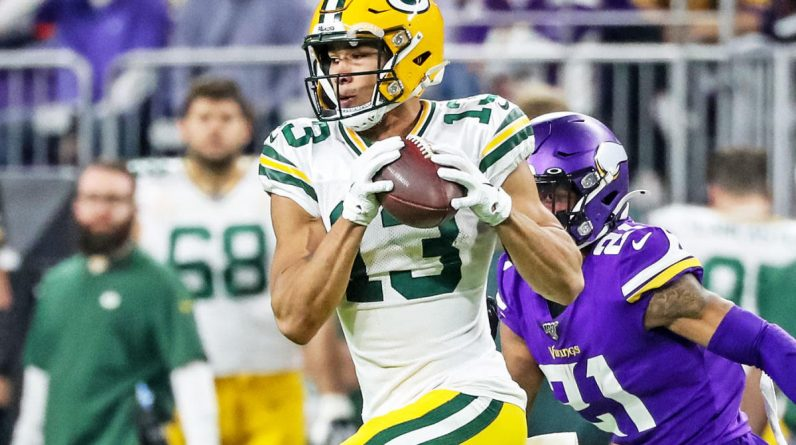 Packers receiver Alan Lazard leaves indefinitely after major muscle surgery
